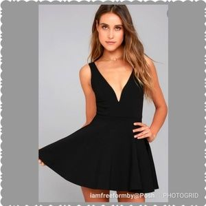 """Lulu's """"I Feel Good"""" Black Skort/Dress"""